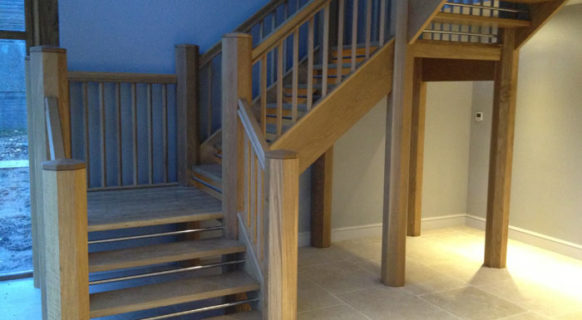 Herridge Office Oak Stairs